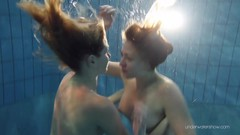 Duna and Nastya horny underwater lesbians Thumb