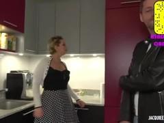 Jacquie et Michel TV: Cali 30ans salope francaise blonde se fait démonter ! Thumb