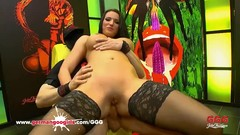 Jolee Love  like's  hard cock to be deep in her ass. For sure bukkake facial at the end Germangoogir Thumb