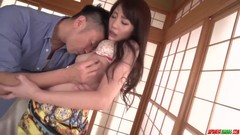 Ryouka Shinoda takes cock in both her tiny holes - More at Japanesemamas.com Thumb
