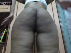 Big Ass Indian wife spreading ass cheeks Thumb