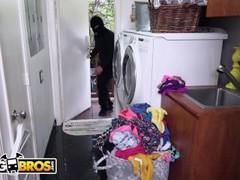 BANGBROS - Home Invader Fucks Curvy MILF Sara Jay While Her BF Sleeps Thumb