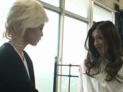 Japanese Lesbian Kissing Thumb