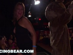DANCING BEAR - Insane CFNM Party With Gang Of Hoes And Big Dick Strippers Thumb