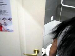 MILF MASTURBATES ON TOILET TO CREAMPIE RECORDED ON HIDDEN CAMERA PORN 4K Thumb