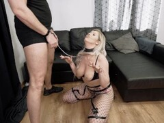 Super Hardcore Throat Bulge Deepthroat Piss Humiliation with Kate Truu Thumb