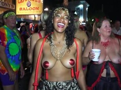 Sexy naked street flashers Key West fest p1 Thumb