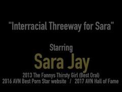 Curvy Soul Sisters Sara Jay & Porsha Carrera Fuck & Suck BBC Thumb