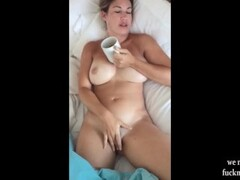 Hot MILF Love Morning Facial Blowjob Thumb