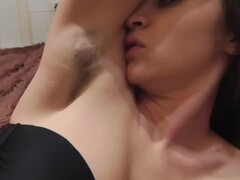Lesbian Licking Hairy Sweaty Armpits Thumb