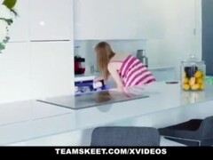 MyBabySittersClub - Babysitter Gets Hand Stuck In Sink and Fucked By Boss Thumb