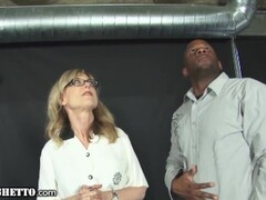 WhiteGhetto Hot GILF Gets Multiple Orgasms From A Big Dick In Her Sex Dungeon Thumb