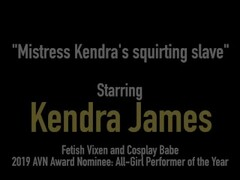 Red Dom Kendra James Makes Bound Slave Kendra Heart Cum! Thumb